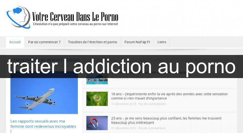traiter l'addiction au porno