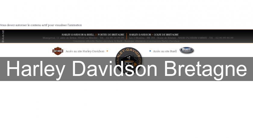 harley davidson bretagne moto occasion et neuf. Black Bedroom Furniture Sets. Home Design Ideas