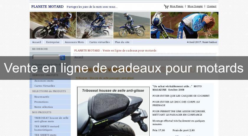 Vente en ligne de cadeaux pour motards accessoires et for Vente vegetaux en ligne