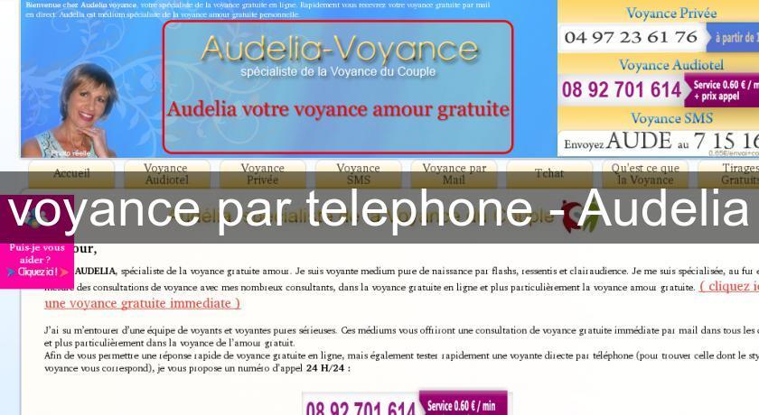 7fa197b1ede17 voyance par telephone - Audelia Voyance