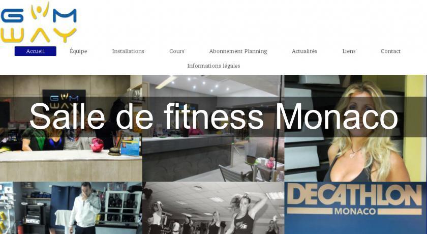 salle de fitness monaco salle de fitness