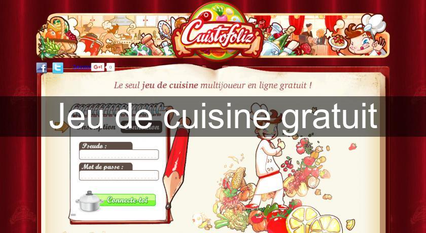 Jeu de cuisine gratuit simulation for Simulation de cuisine