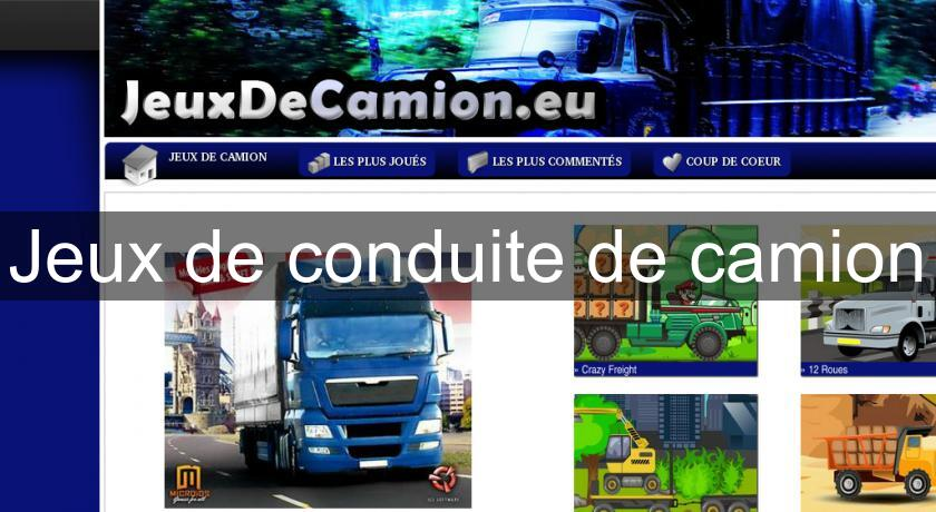 jeux de conduite de camion flash java. Black Bedroom Furniture Sets. Home Design Ideas