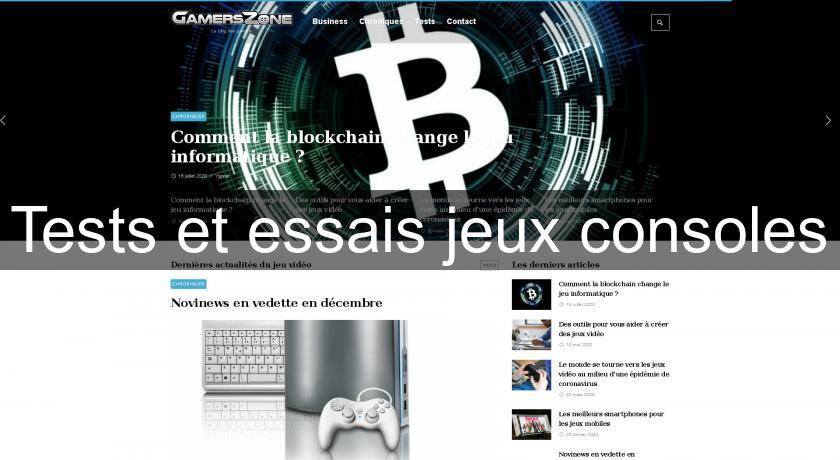 Tests et essais jeux consoles astuce jeu video - Xboxygen le site consacre aux consoles xbox et xbox ...
