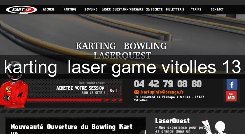 karting  laser game vitolles 13