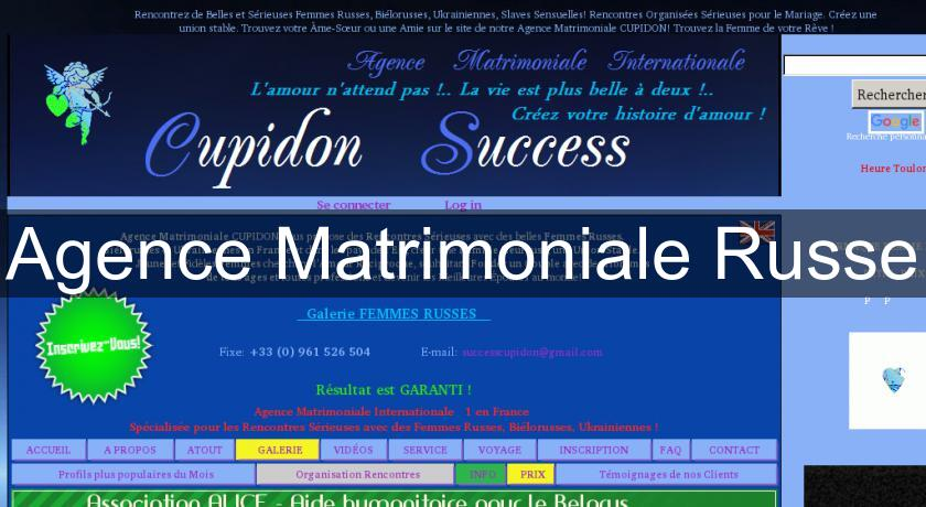 Agence Matrimoniale Russe