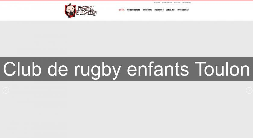 Club de rugby enfants Toulon