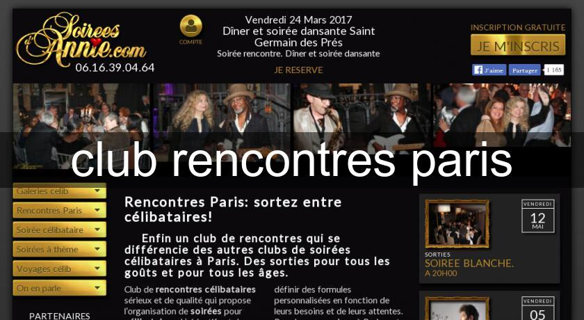 club rencontres paris