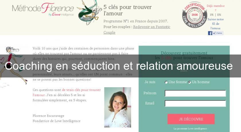 Coaching en séduction et relation amoureuse
