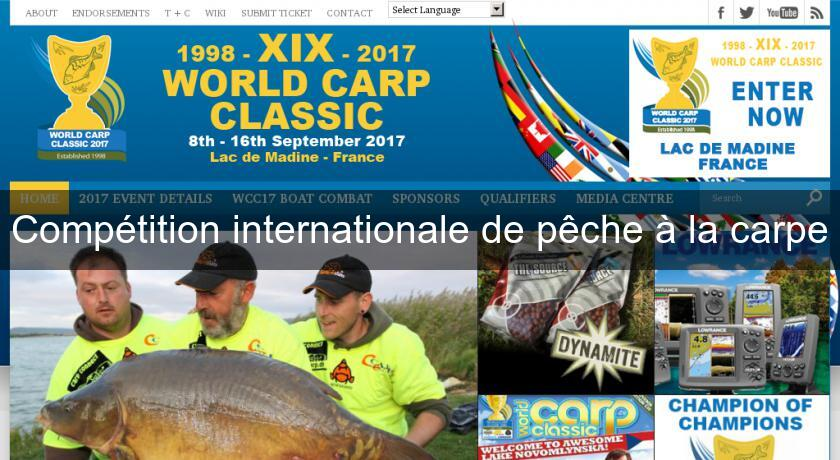 Compétition internationale de pêche à la carpe