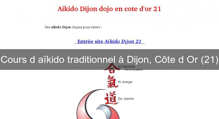 Cours d'aïkido traditionnel à Dijon, Côte d'Or (21)