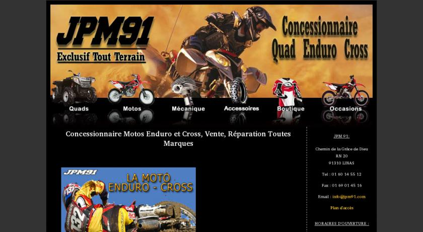 JPM91, Depot vente quad - Motos Enduro et Cross