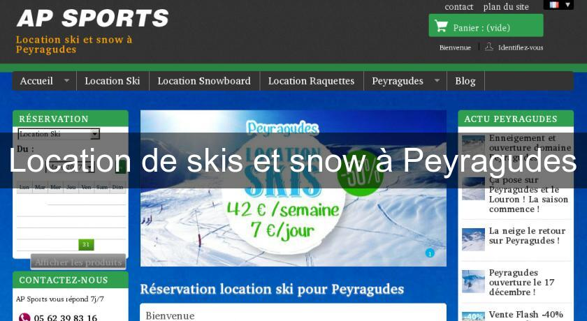 Location de skis et snow à Peyragudes