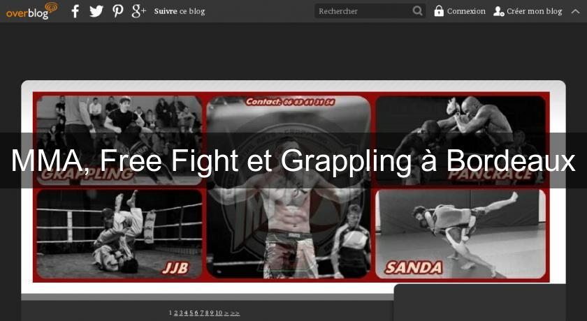 MMA, Free Fight et Grappling à Bordeaux