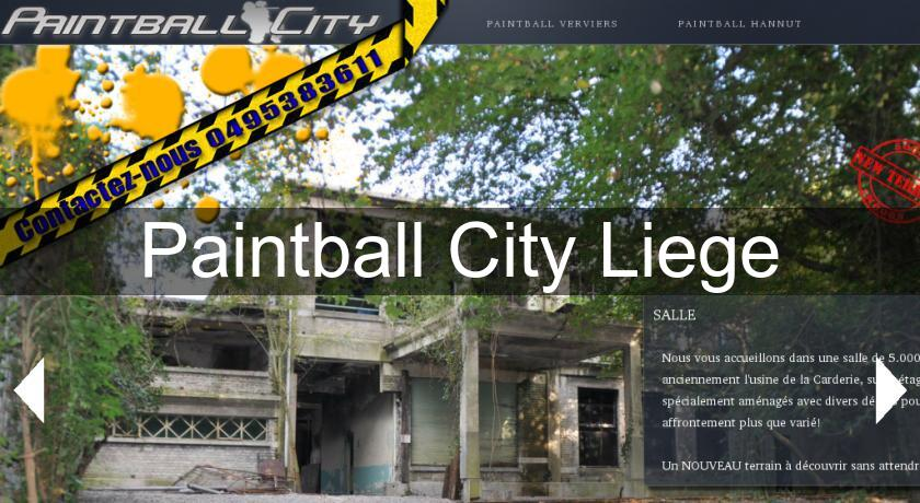 Paintball City Liege