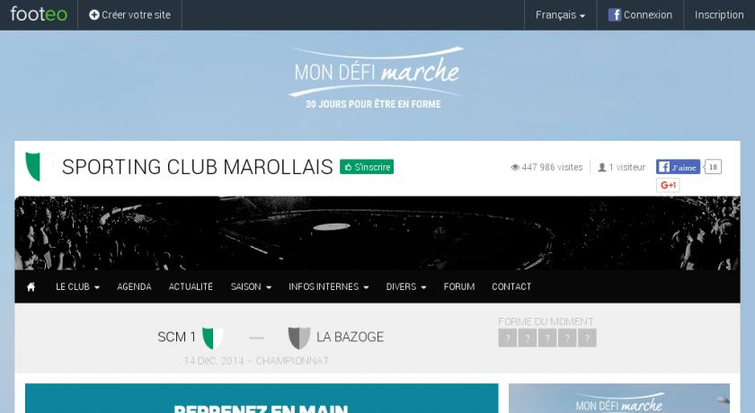 scmarollais club de foot de marolles