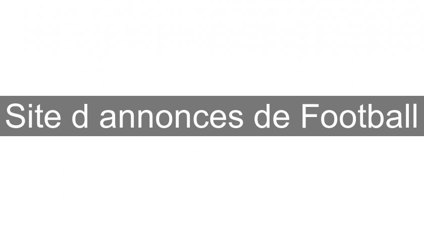 Site d'annonces de Football