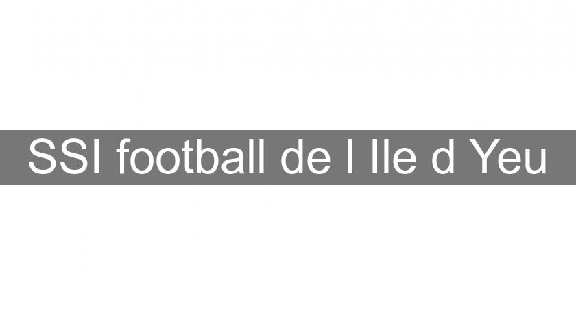 SSI football de l'Ile d'Yeu
