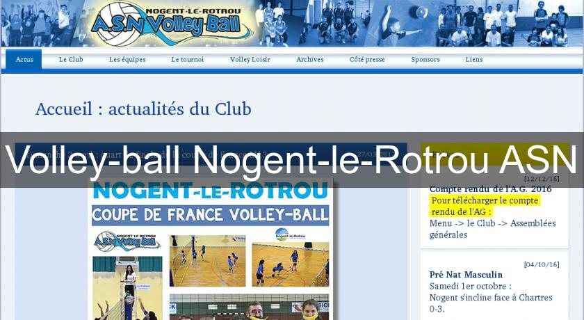 Volley-ball Nogent-le-Rotrou ASN
