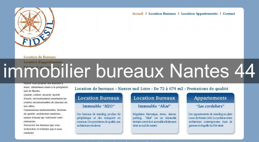 Immobilier Bureaux Nantes 44 Pays De Loire