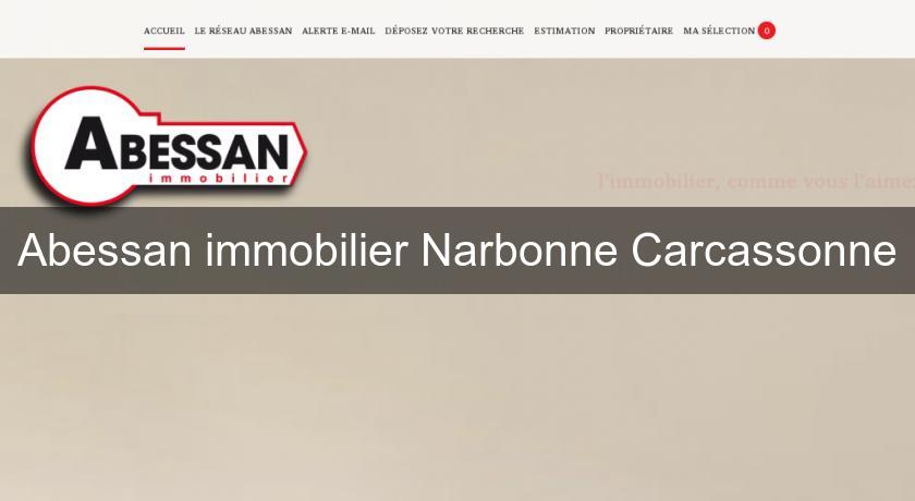 Abessan immobilier Narbonne Carcassonne