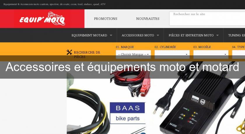 accessoire moto motard