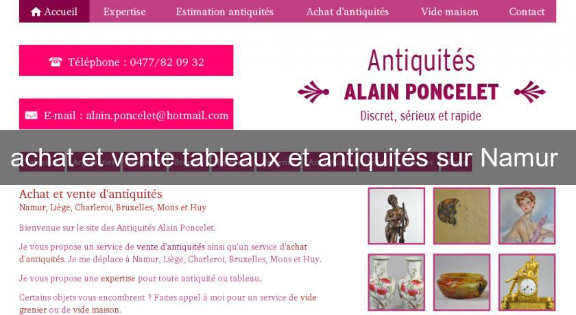 achat et vente tableaux et antiquit s sur namur antiquit brocante. Black Bedroom Furniture Sets. Home Design Ideas