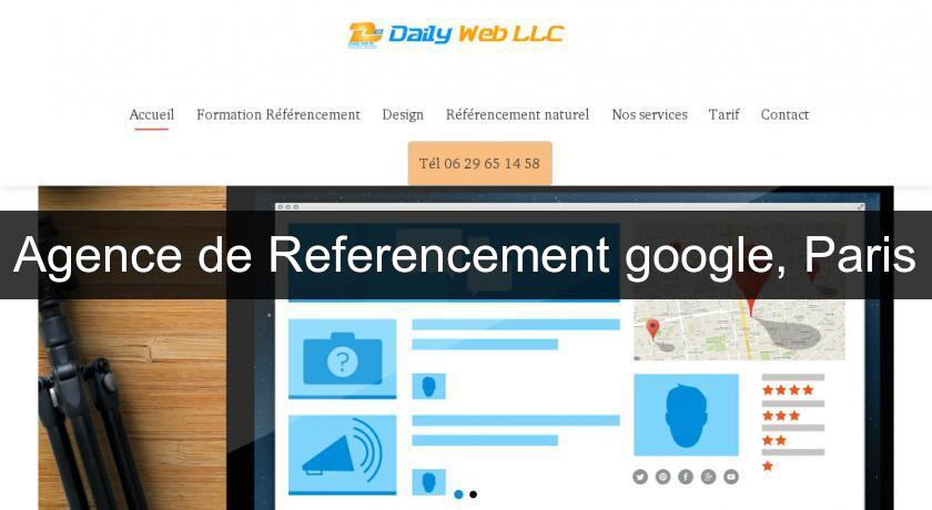 Agence de Referencement google, Paris