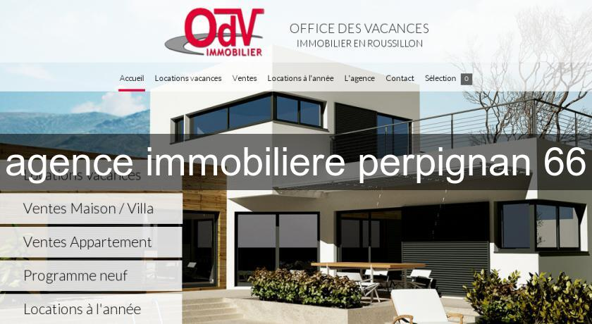 agence immobiliere perpignan 66