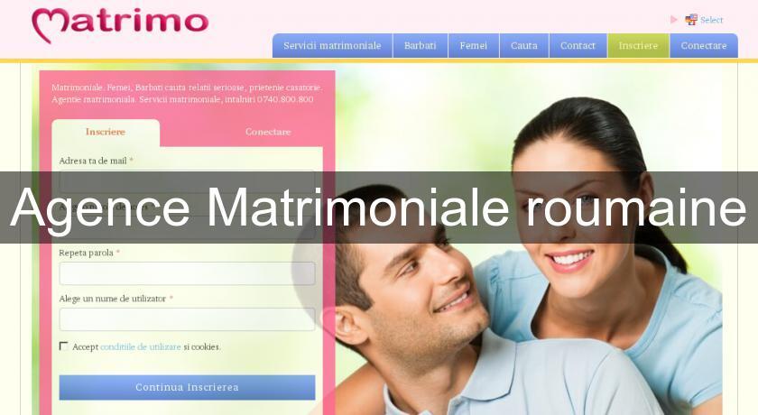 Agence matrimoniale roumaine