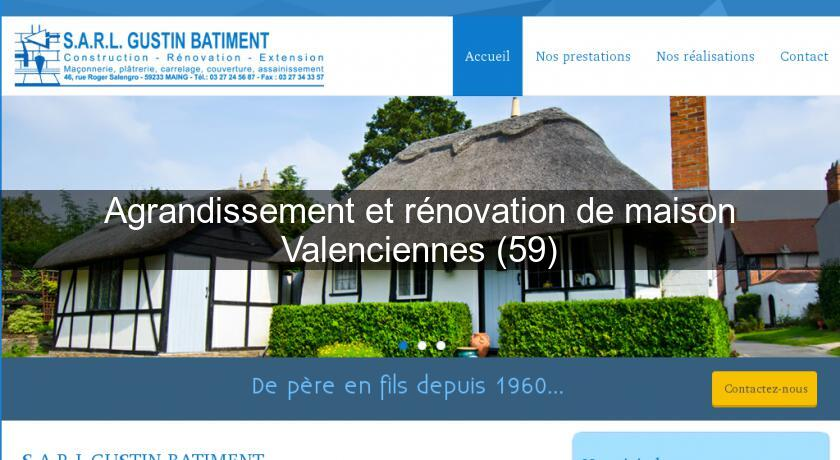 renovation maison valenciennes