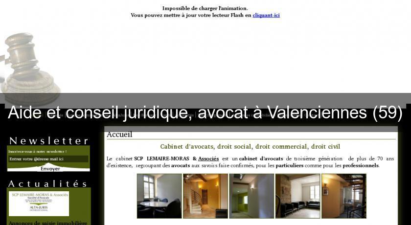 Aide Et Conseil Juridique Avocat A Valenciennes 59 Avocats