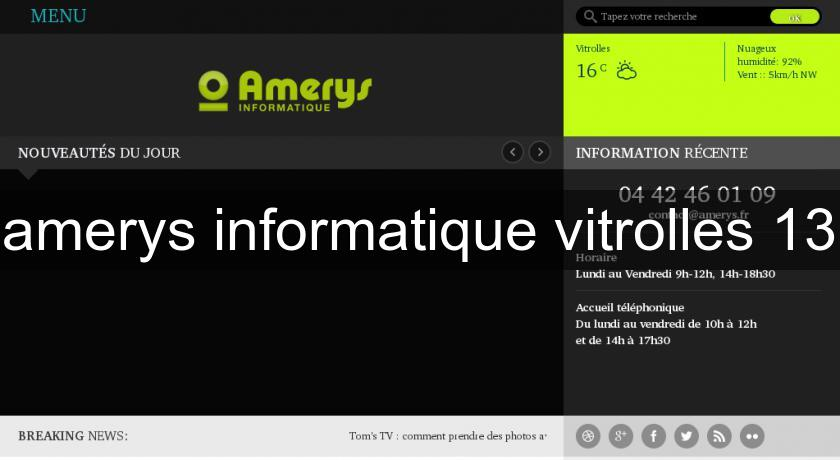 amerys informatique vitrolles 13