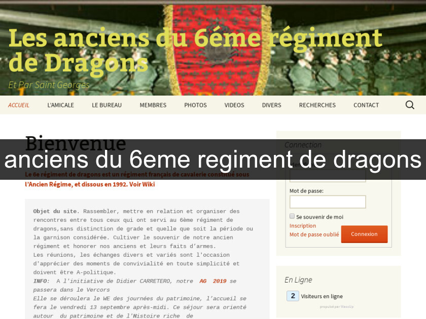 anciens du 6eme regiment de dragons