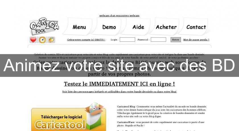 Animez votre site avec des BD Design