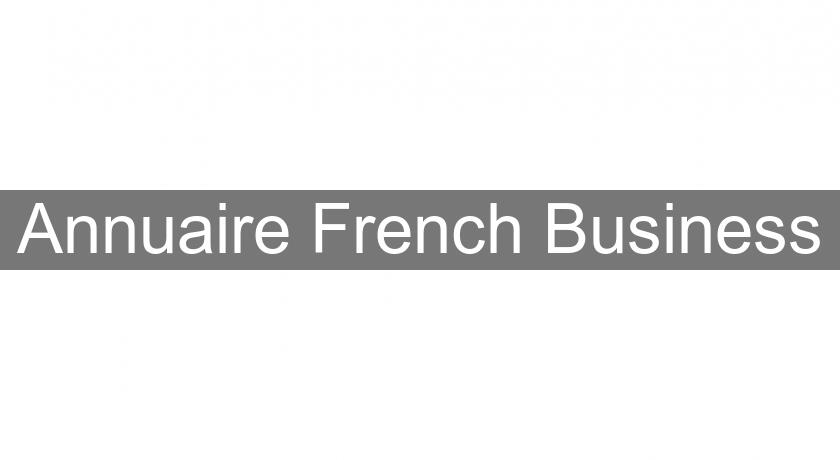 Annuaire French Business