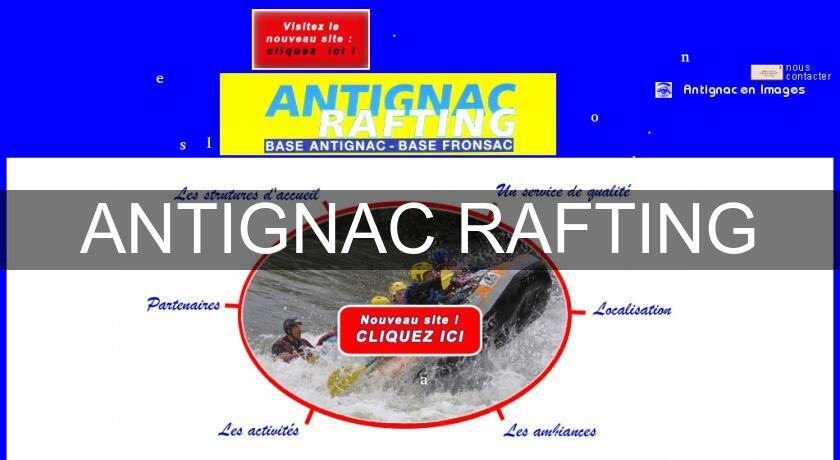 ANTIGNAC RAFTING