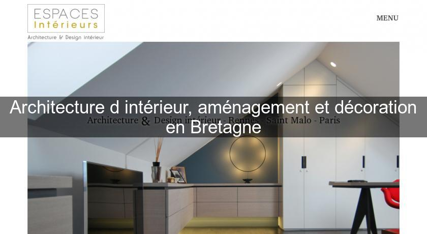 Architecture d 39 int rieur am nagement et d coration en for Annuaire decoration