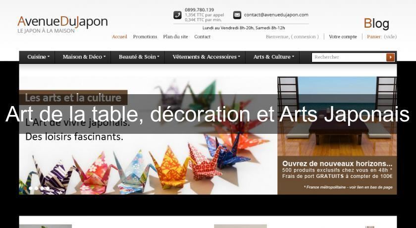 Art De La Table Decoration Et Arts Japonais Decoration