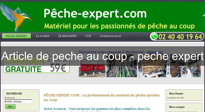 site article de peche
