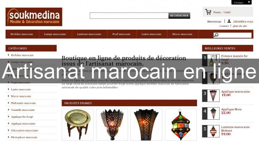 Decoration Marocaine En Ligne.Artisanat Marocain En Ligne Decoration Marocaine