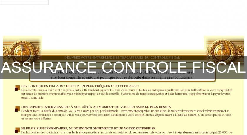 ASSURANCE CONTROLE FISCAL