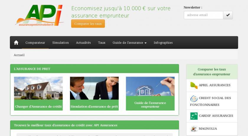 assurance pret immobilier online
