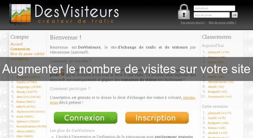 Augmenter Le Nombre De Visites Sur Votre Site Outil De Referencement