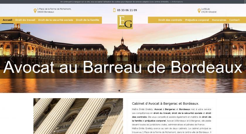 Avocat au Barreau de Bordeaux