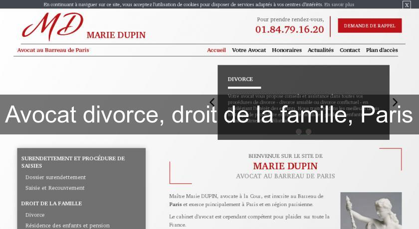 avocat divorce droit de la famille paris avocats. Black Bedroom Furniture Sets. Home Design Ideas