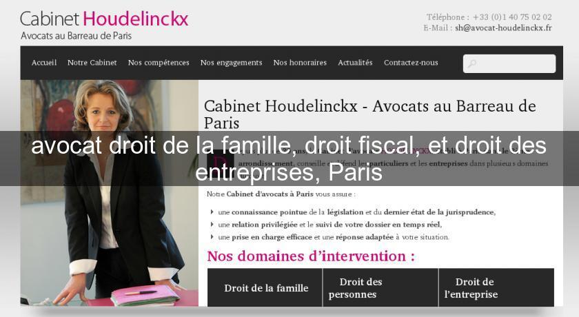 Avocat droit de la famille droit fiscal et droit des - Cabinet droit fiscal paris ...