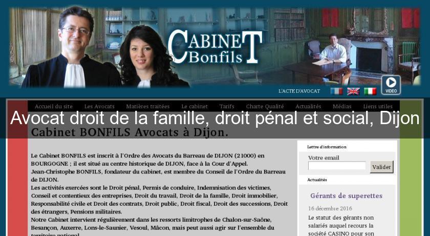 Cabinet d avocat dijon - Cabinet avocat droit social ...