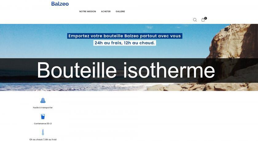 Bouteille isotherme