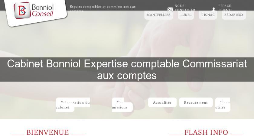 Cabinet Bonniol Expertise comptable Commissariat aux comptes